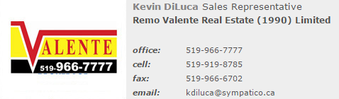 Kevin Diluca - Valente Real Estate
